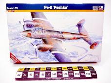 MODEL SAMOLOTU PESHKA PE-2...