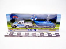 AUTO POLICJA 12CM Z LODZIA...