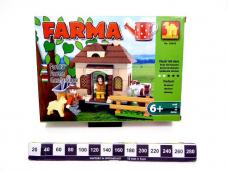 KLOCKI FARMA DOMEK 4055