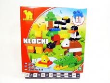 KLOCKI MAXI ZOO 60EL 6368