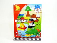KLOCKI MAXI ZOO 40EL 6382