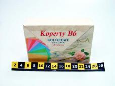 KOPERTY KOLOR B6 (100SZT) 0897