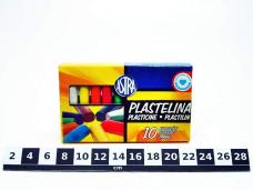 PLASTELINA 10 KOL. ASTRA 0088