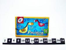 PLASTELINA AS 10 KOL 0552/9296