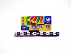 PLASTELINA 12+1 ASTRA 7504