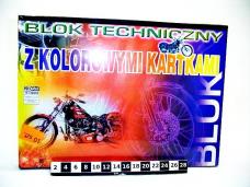 BLOK TECHNICZNY A3 KOLOR 0204