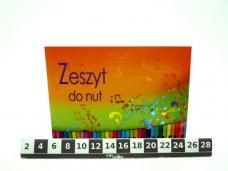 ZESZYT DO NUT A5 1355