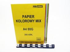 PAPIER KOLOROWY A4 80G A200...