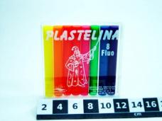 PLASTELINA 8 FLUO 0049/0009