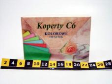 KOPERTY KOLOR C6 (100SZT) 0927