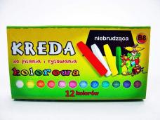 KREDA KOLOROWA 12 LASEK 0226