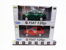 FIAT 126P MODEL 1/21 METAL...
