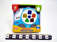ORGANKI POLICE CAR 0436