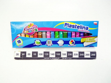 PLASTELINA 18 KOLOROW...