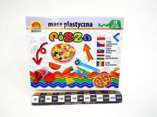 MASA PLASTYCZNA PIZZA 5986