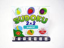 SUDOKU 2X2 OWOCE 2865