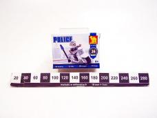 KLOCKI POLICJA MOTOCYKL 1035