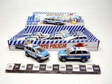 AUTO METAL POLICJA 11CM Z...