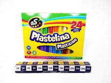 PLASTELINA 24KOL AS ASTRA 9319